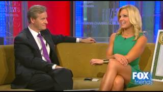 Anna Kooiman's sexy leg cross on Fox & Friends After the Show Show.