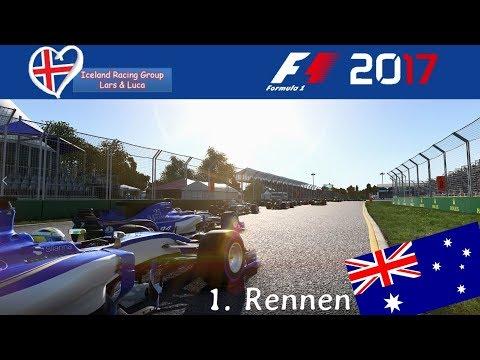 F1 2017 - Iceland-Racing-Group - Liga - 1. Rennen - Australien