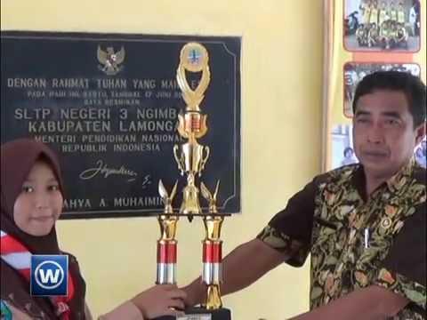 Siswi SMP Pinggiran Juara 1 Pidato Bahasa Inggris