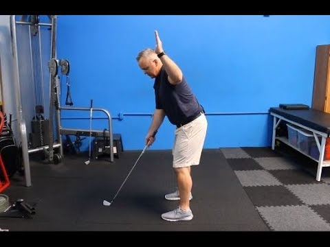 At Home Golf Fitness Assessment