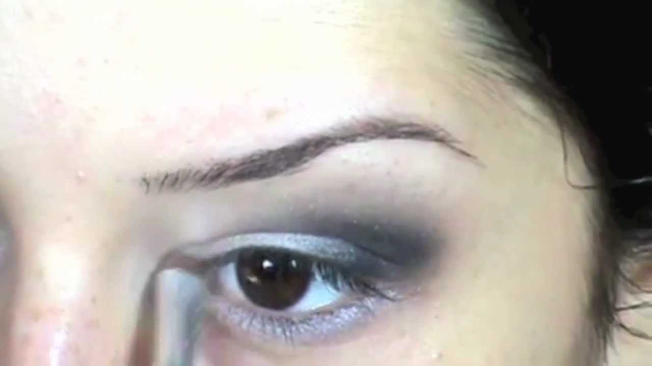 Lecţia Nr 12 Machiajul Ochilor Mici Youtube
