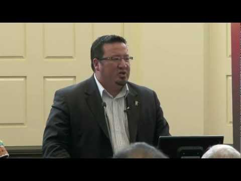 Realizing Treaty Rights - A lecture by Grand Chief Derek Nepinak Part 1 of 3
