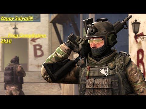 Frag Compilation 2k18 | Zappy SaiyajiN | Counter Strike Global Offensive