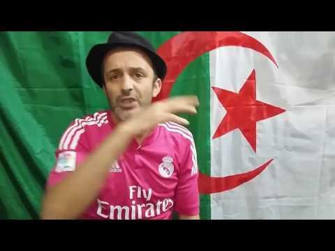شوبير في مقارنة بين اللاعب الجزائري المحلي والمحترف Choubir DZ Ain Tedeles Partie 01