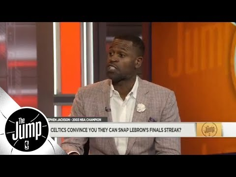 Stephen Jackson Praises Young Celtics Jayson Tatum, Jaylen Brown, Terry Rozier | The Jump | ESPN
