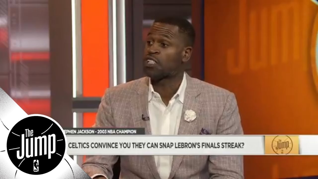 Stephen Jackson praises young Celtics Jayson Tatum, Jaylen Brown, Terry Rozier | The Jump | ESPN