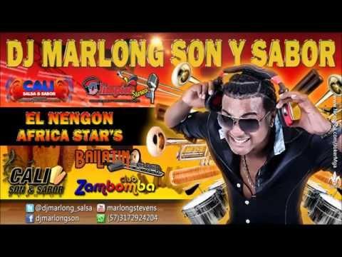 EL NENGON MIX  - AFRICA STAR'S - DJ MARLONG SON Y SABOR 2013