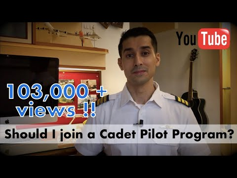 Should I join an airline cadet pilot program? - Answered