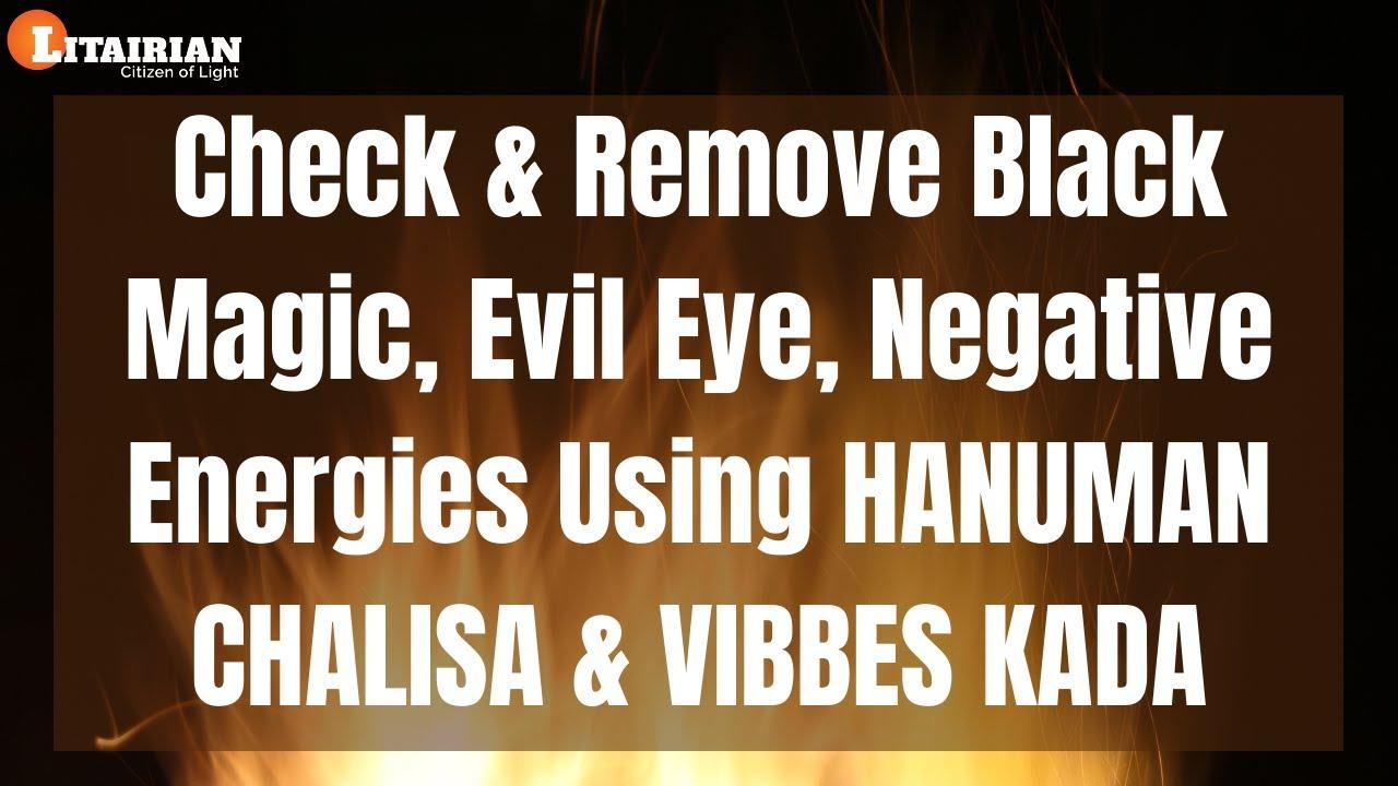 How to Remove Black Magic & Evil Eye Using Hanuman Chalisa