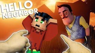 Minecraft Realistic : Hello Neighbor - NEW NEIGHBOR KIDNAPPED