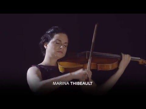 Marina Thibeault joue Le grand tango d'Astor Piazzolla