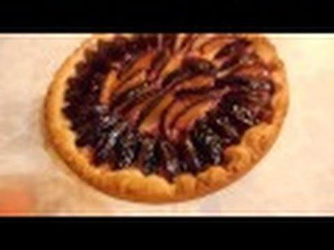 Легкий рецепт Вкуснейший сливовый пирог. Без яиц и дрожжей. VARENJE7