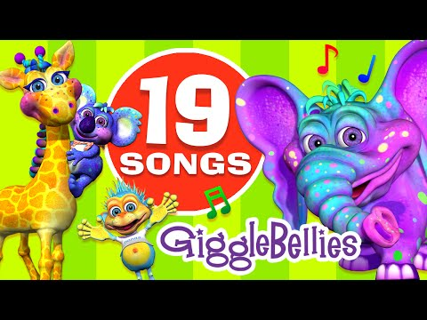 Best Children Songs & Nursery Rhymes Collection | 19 Fun & Colorful Toddler Videos