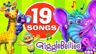 Best Children Songs \u0026 Nursery Rhymes Collection | 19 Fun \u0026 Colorful Toddler Videos