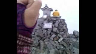 粥川なつ紀 奥穂高岳山頂 3190m