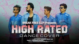 High Rated Gabru - Dance Choreography | Amit Saini Ft. Break Free Gzp