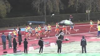 20141109野田市記録会高校男子5000ⅿ2組