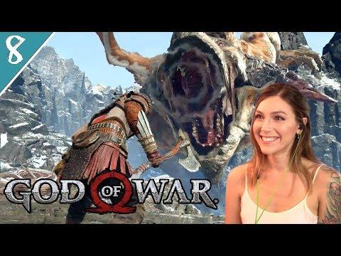 Fighting A Dragon & Meeting Mimir | God of War Pt. 8 | Marz Plays