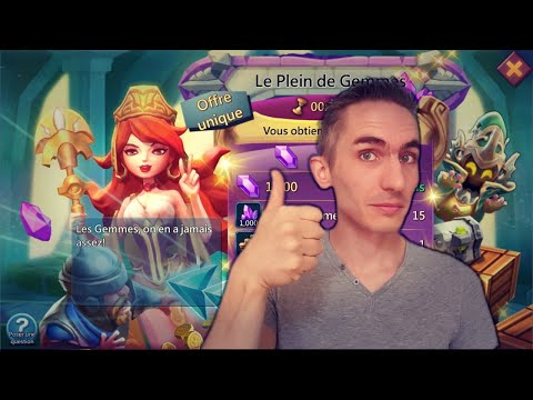 Tuto Lords Mobile : Pack Moins Cher !