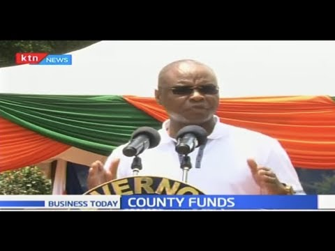Counties cry foul on the delay of county funds from National Gov\'t