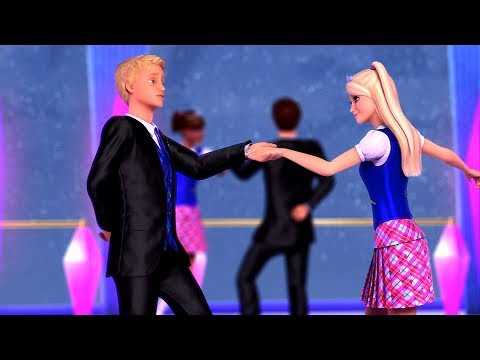 Barbie: Princess Charm School - Blair meets Nicholas during the dance class