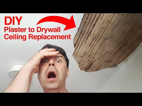 how-to-replace-a-plaster-ceiling-with-drywall-diy!