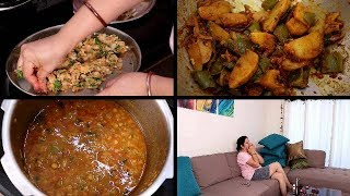 Aadhi Raat ko ye SURPRISE | Busy INDIAN MORNING ROUTINE | Breakfast + Lunch | Lauki Chana Dal | VLOG