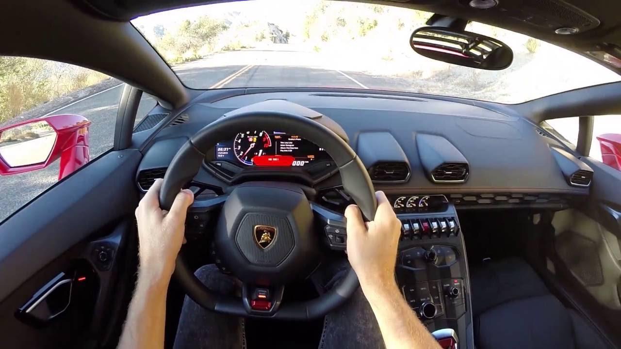 2016 Lamborghini Hurac 225 N Lp 580 2 Wr Tv Pov Canyon Drive Youtube