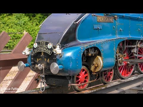 Pacific Locomotives Rally 2017 - Nottingham Society of Model & Experimental Engineers - Live Steam