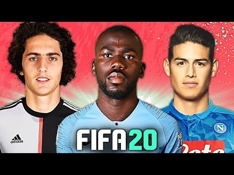 ARRIVA JAMES, VIA KOULIBALY?! 🤔 TOP 10 TRASFERIMENTI FIFA 20 - ESTATE 2019 | Rabiot, Joao Felix