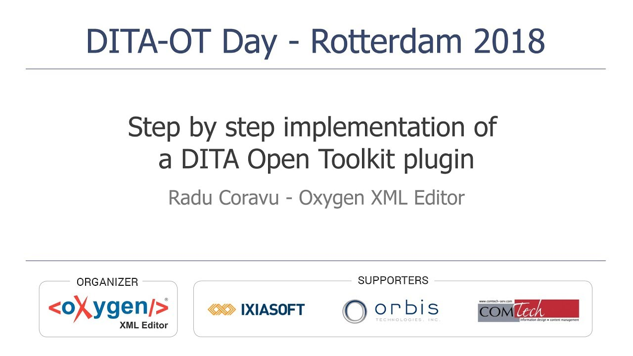 Testing the dita open toolkit youtube.