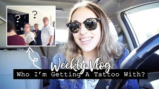 WASHI DECLUTTER & WHO I'M GETTING A TATTOO WITH! || Weekly Vlog #33