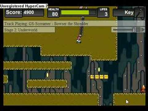 Super Mario Hardcore glitch for andkon.com