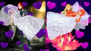WINX CLUB love story fan animation cartoon Zombie Apocalypse Love Potion