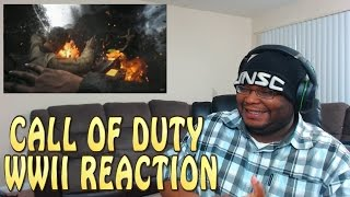 Call of Duty: WWII Official Reveal Trailer REACTION