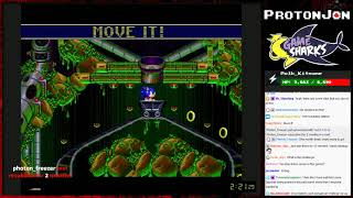 ProtonJon - Game Clearing (39/52 Cleared) & Game Sharks - Sonic Spinball Challenge