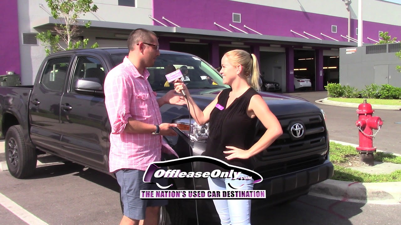 Off Lease Palm Beach >> Off Lease Only Reviews Used Toyota Tacoma West Palm Beach Florida
