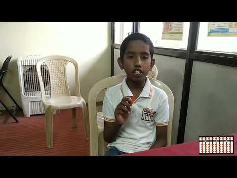 Chanakya Abacus Student Sumedh Hanmante 2