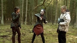 Gemma Arterton on Hansel and Gretel Witch Hunters (Part 2)