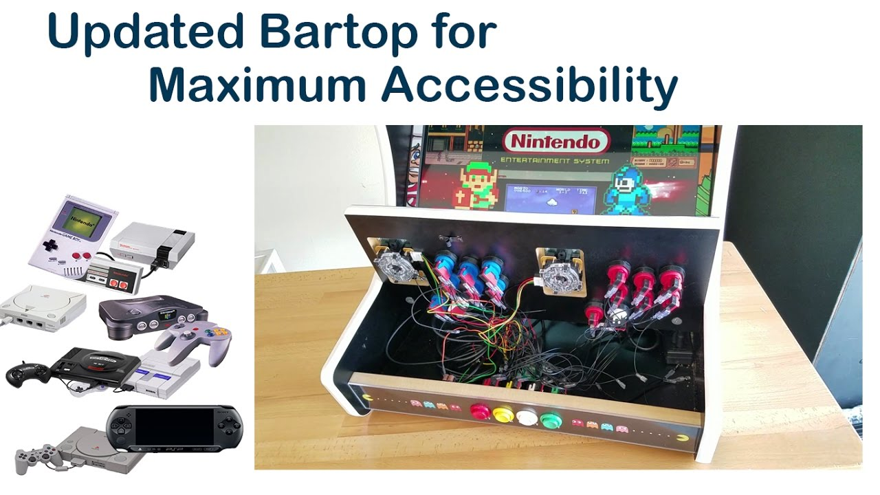 gameroomsolutions com deluxe bartop revision 2 youtube