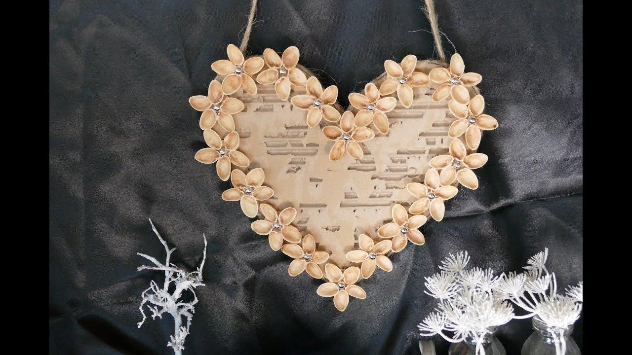 Diy Herz Basteln How To Make A Heart Basteln Zum Muttertag
