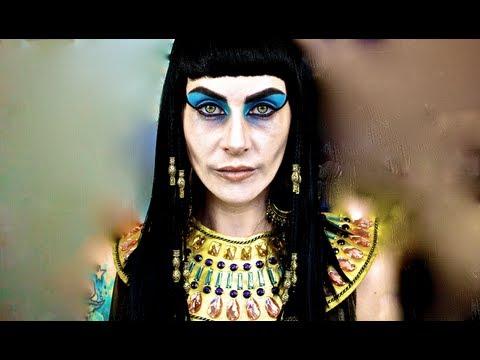 Cleopatra\'s Ghost; Halloween Makeup Tutorial. - YouTube
