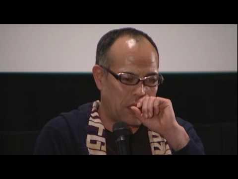 田中要次氏が地元長野の劇場にて行われた、映画「インビクタス」試写会にてトークショー出演。