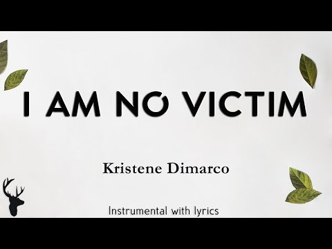 I AM NO VICTIM - Kristene Dimarco (Bethel Music) - Acoustic Instrumental [Piano Karaoke with Lyrics]