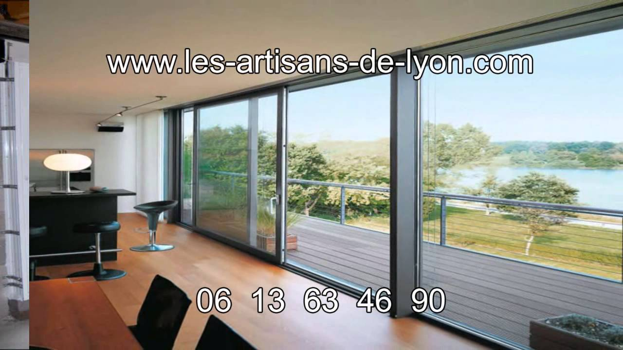 baie vitr e lyon marc lacombe youtube. Black Bedroom Furniture Sets. Home Design Ideas