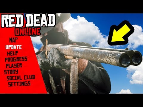 New Red Dead Online Update! Free Gifts, Gold Bars And More!