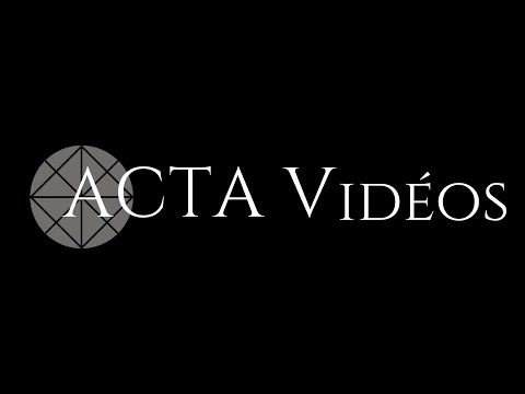 ACTA VIDÉOS: ça