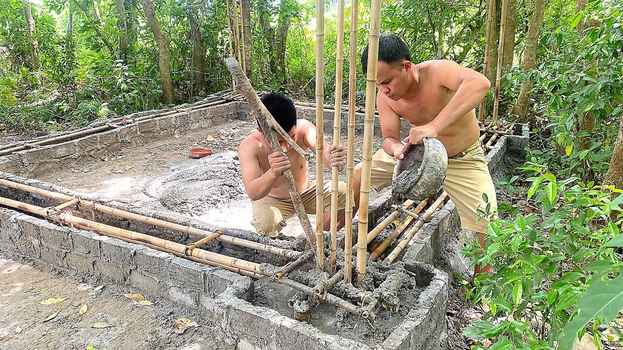 Primitive Skills: Building house antique Egypt by primitive technology Minecraft in rainforest #4