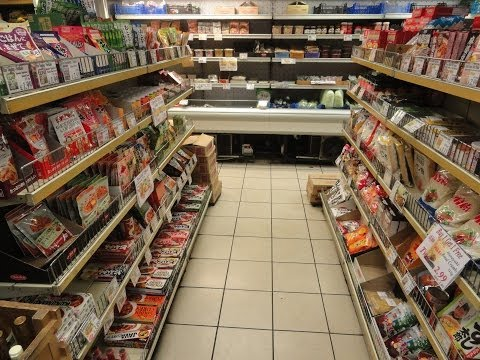 A walk & look around inside Arigato - a Japanese supermarket in London.