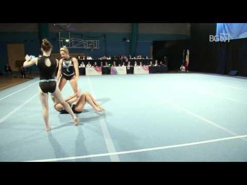 West Street Women's Group Int 1 Balance Acrobatic International